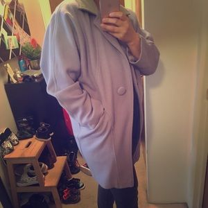 American Apparel Wool Car Coat
